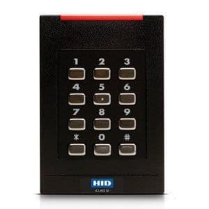 921N - HID R40 Wall Switch Reader With Keypad (iCLASS SE®)